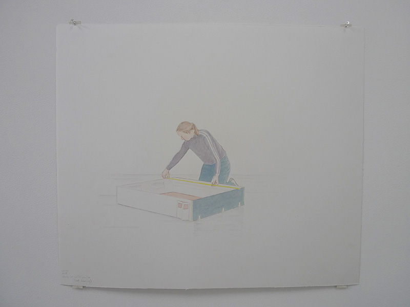 Study for spatial practice, 2003
