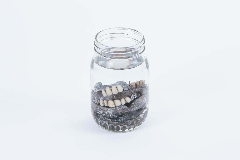 Michael Needham 'Jar of Dentures'