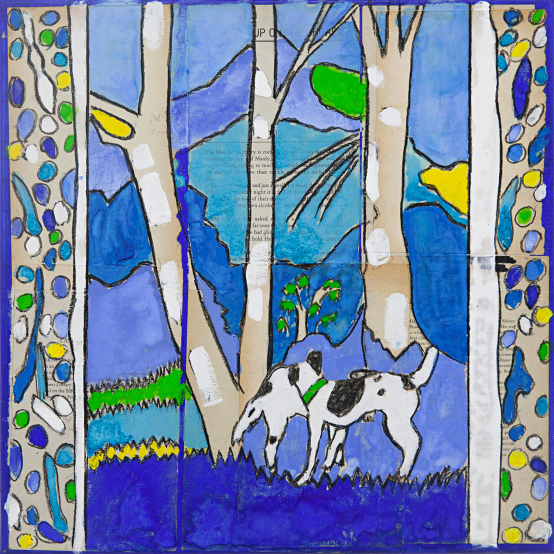 Katherine Hattam 'Dogs in the Creek'