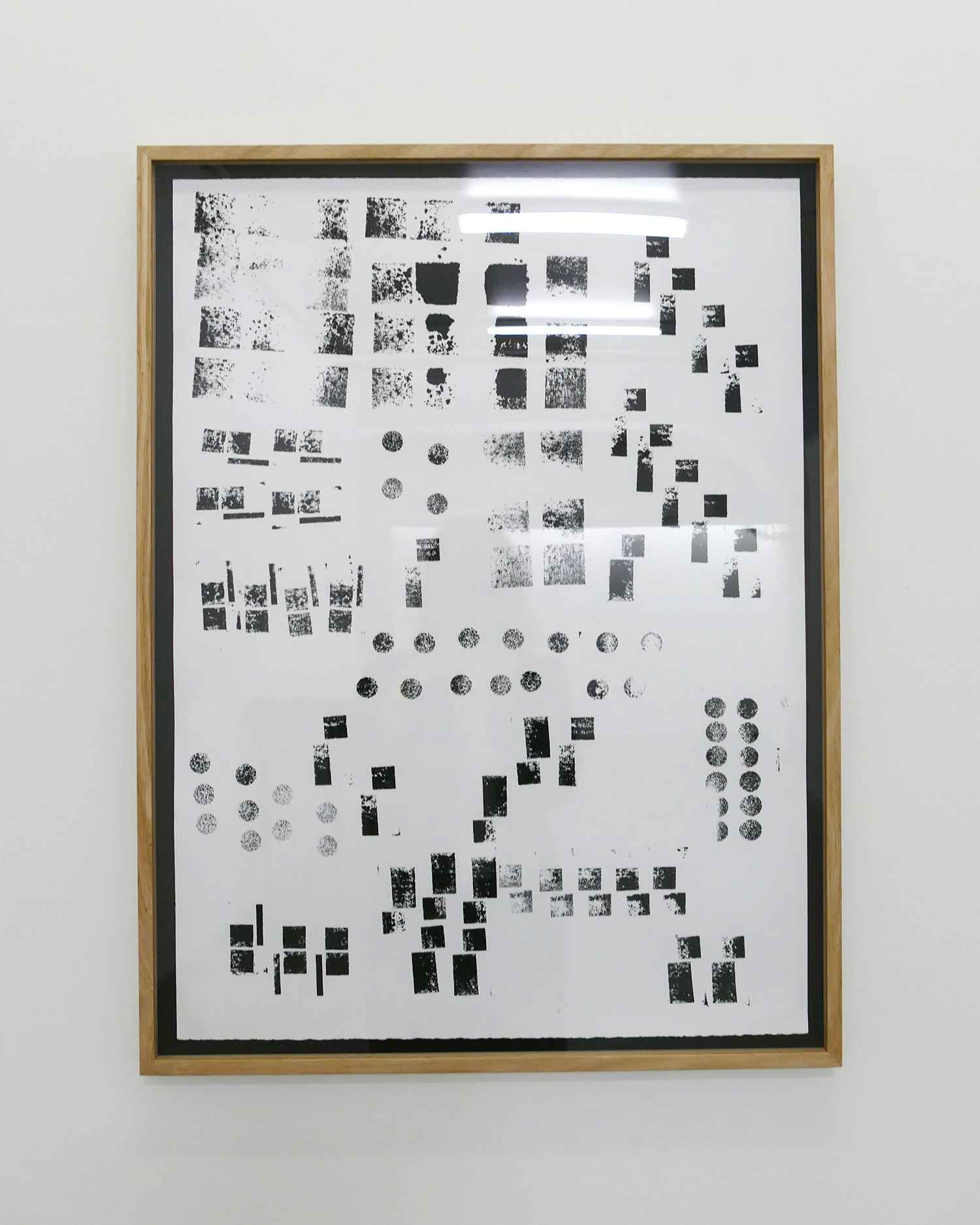 Hardbody Sculpture (Block Print – Black)
