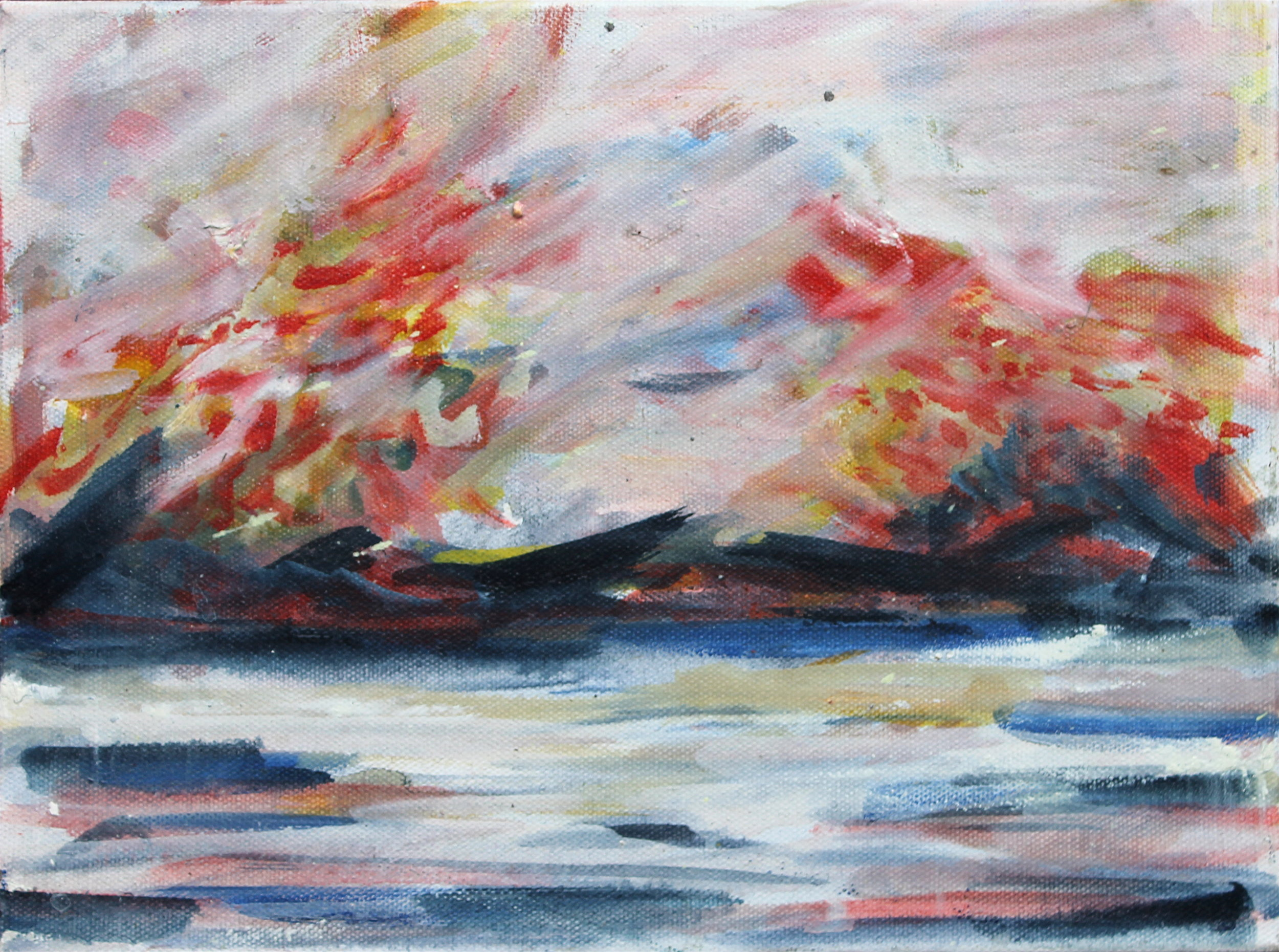 Autumn Lake Study .JPG