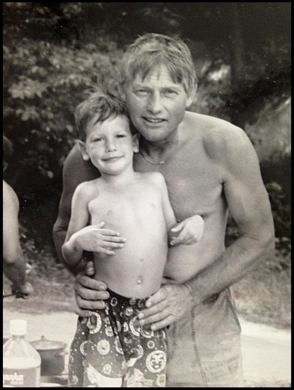 Matt and Grand daddy Hank