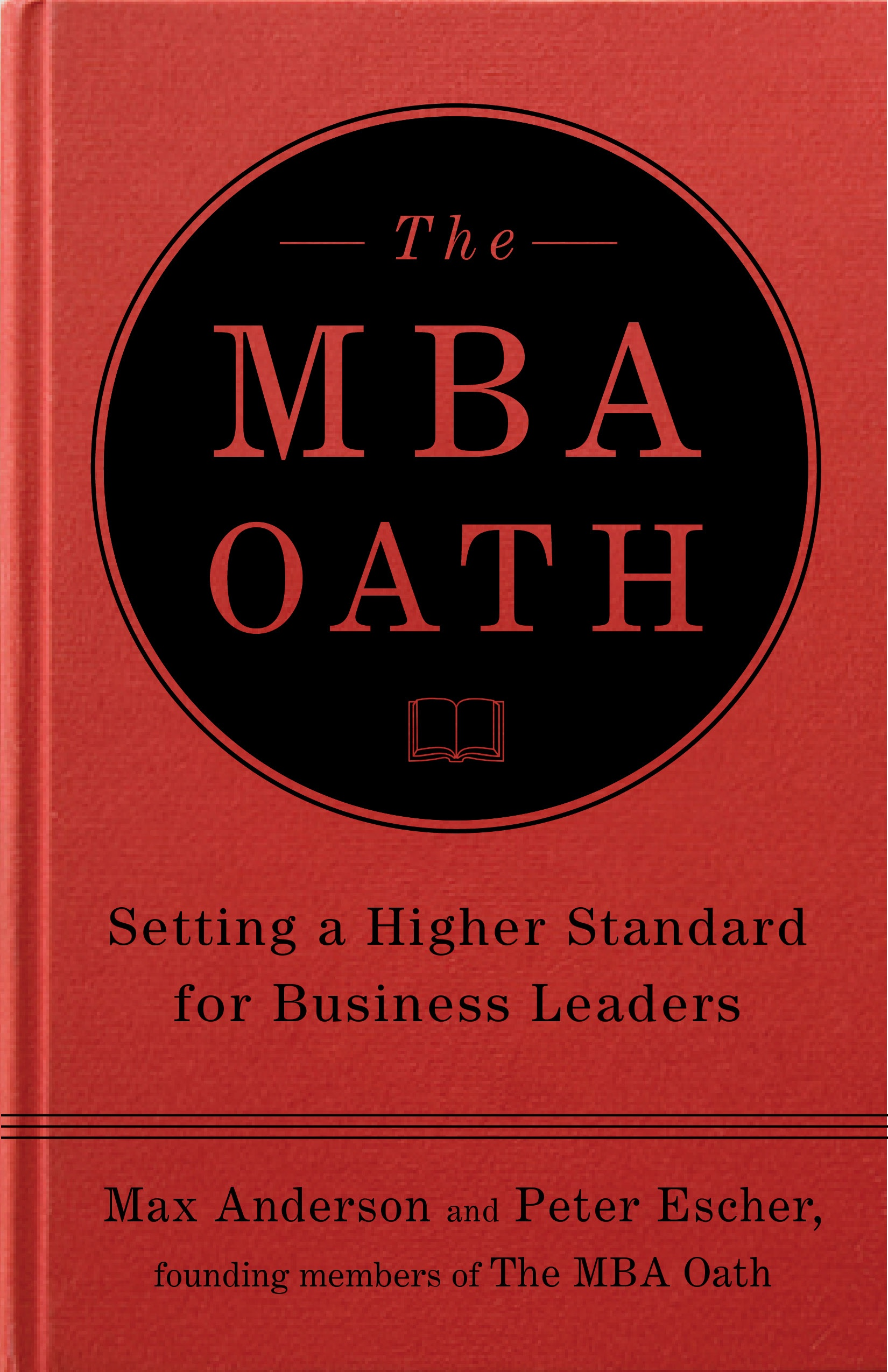 Click above to order a copy of the MBA Oath.