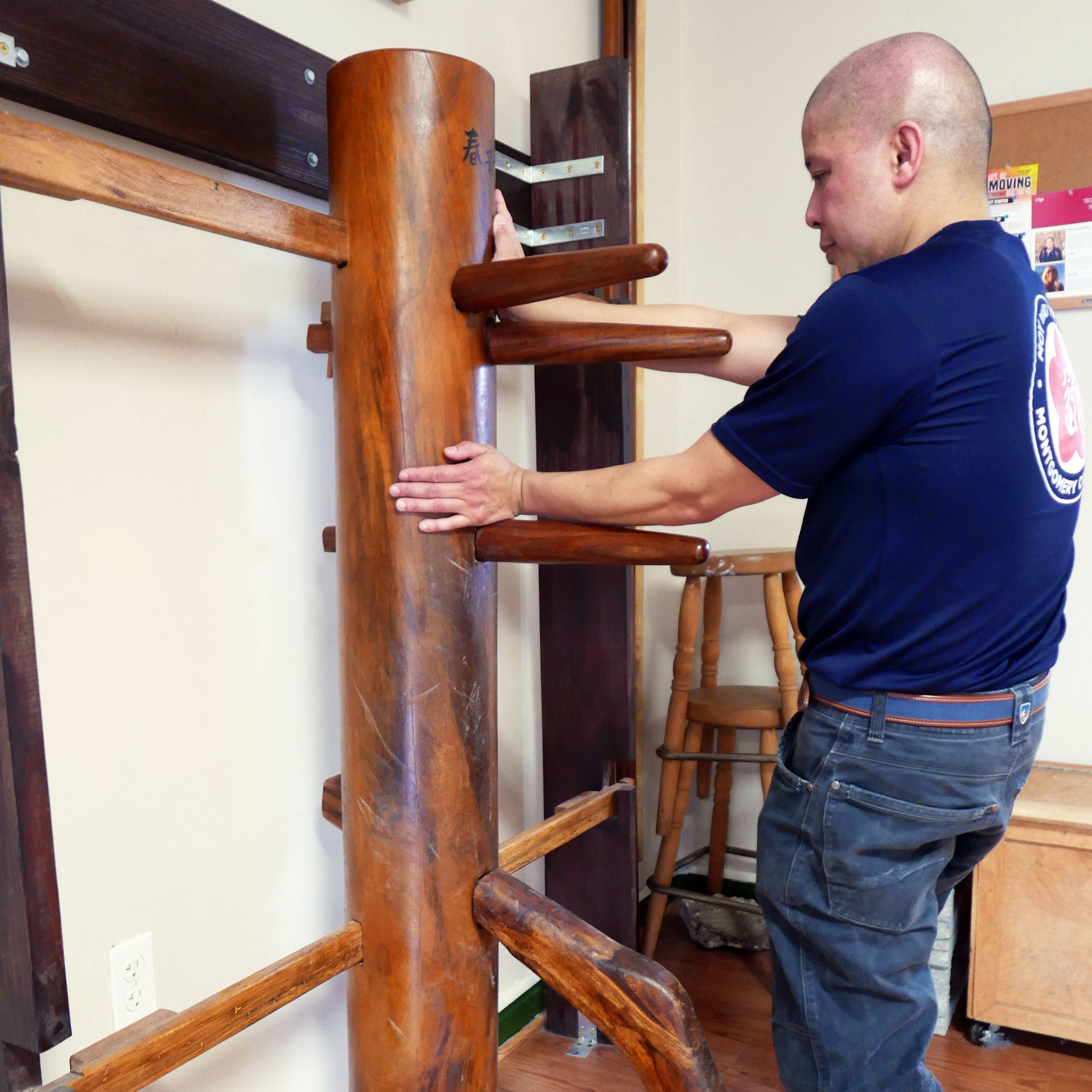 Wooden-Dummy-Montgomery-County-Kung-Fu