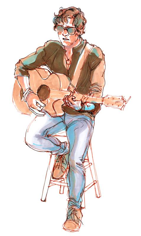 Drawn by Jennifer Kennedy