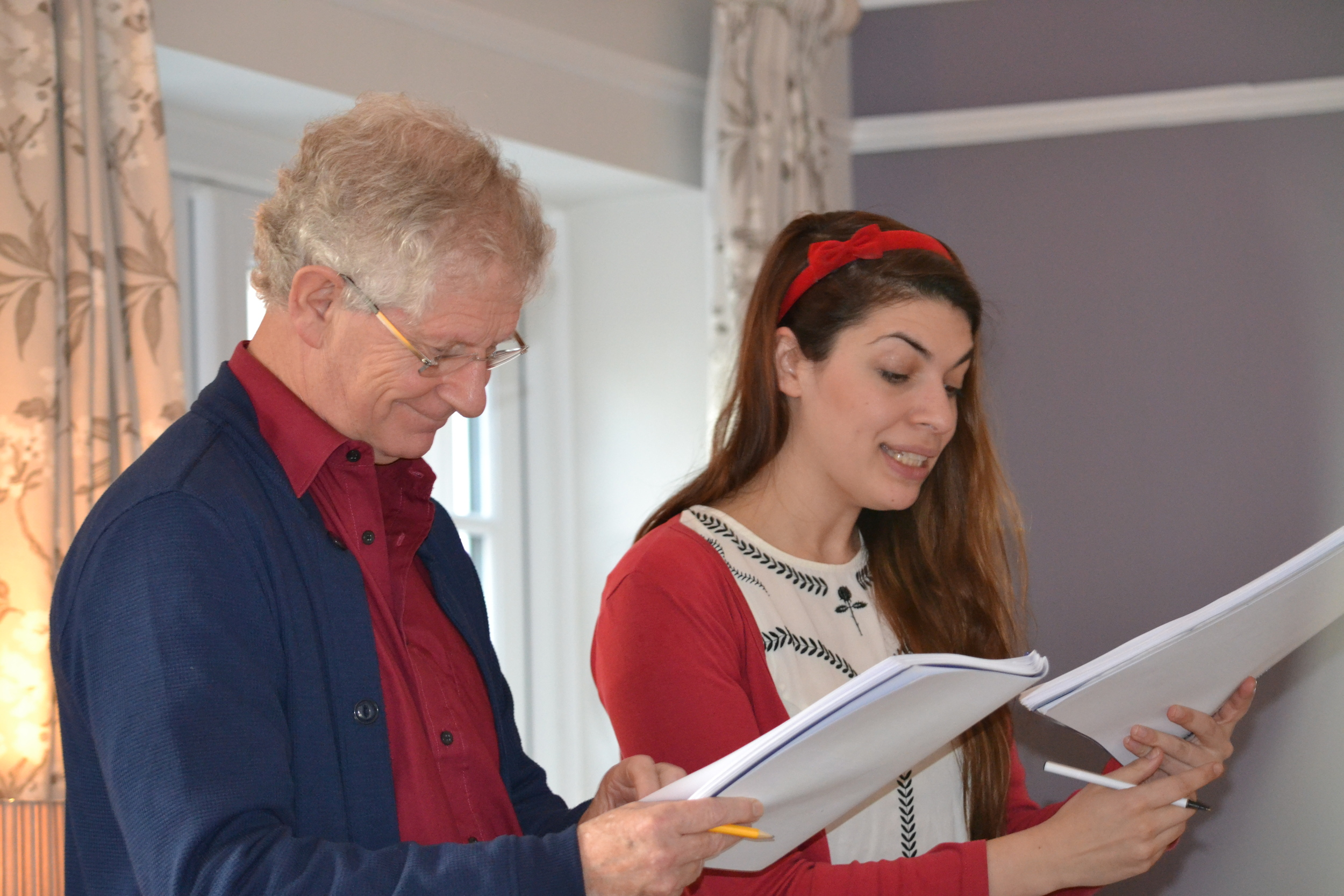 Peter Pearson  will portray Lord Atkin, while  Jess Hadleigh  will play Betty, Lord Atkin's daughter.