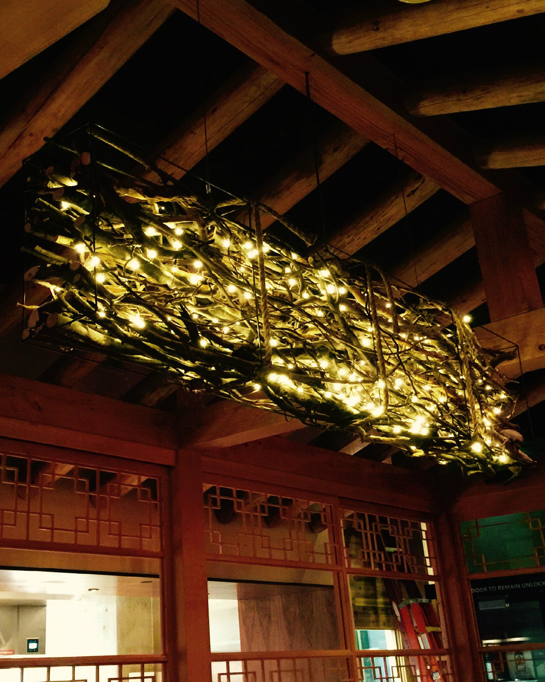 """Branch Light"" Girin Restaurant, Seattle."