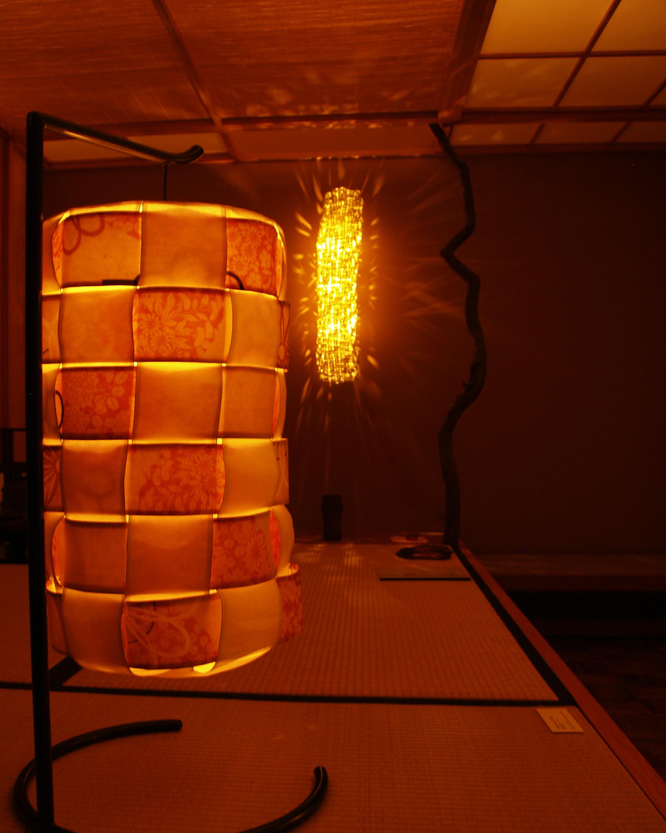 """""""Utage"""" """"Komorebi"""" Sheenhan Gallery -Tea room/Whitman College, Walla Walla, WA."""