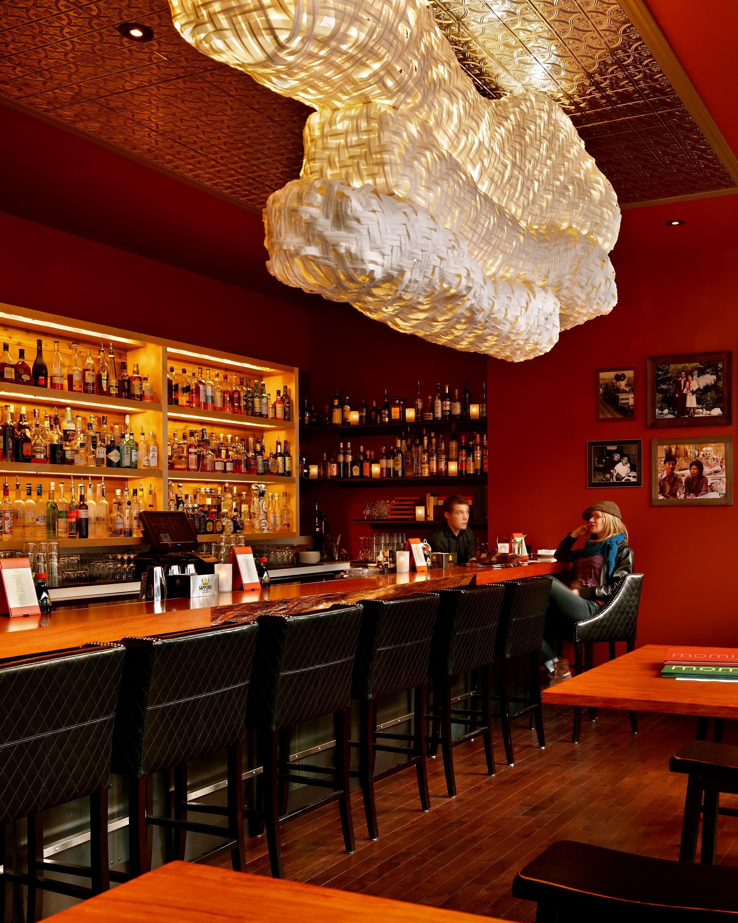 """Koinobori"" Momiji Restaurant, Seattle."