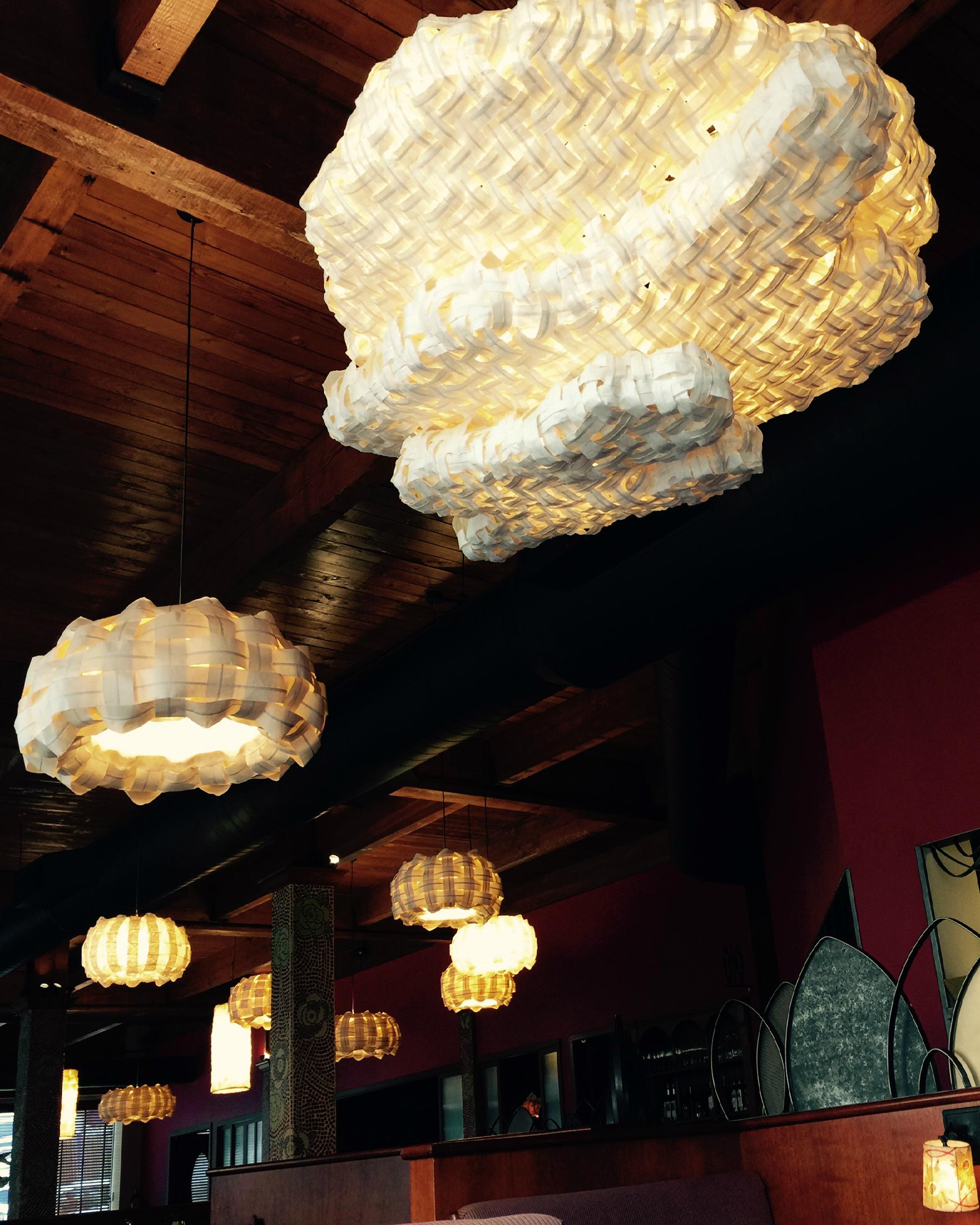 """Moon Shine"" Dahlia Lounge Restaurant, Seattle."