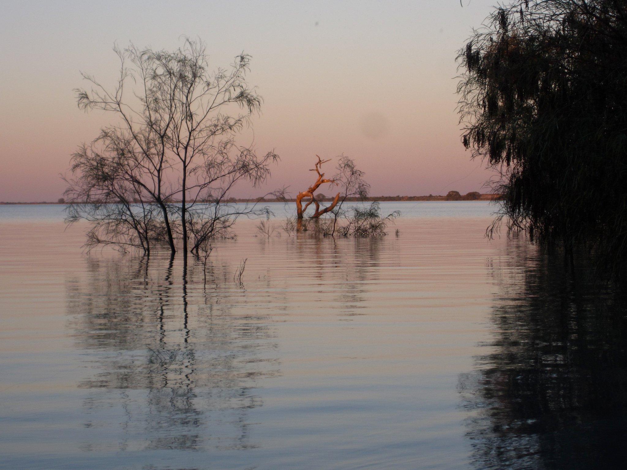 Desert flood - Australian inspiration