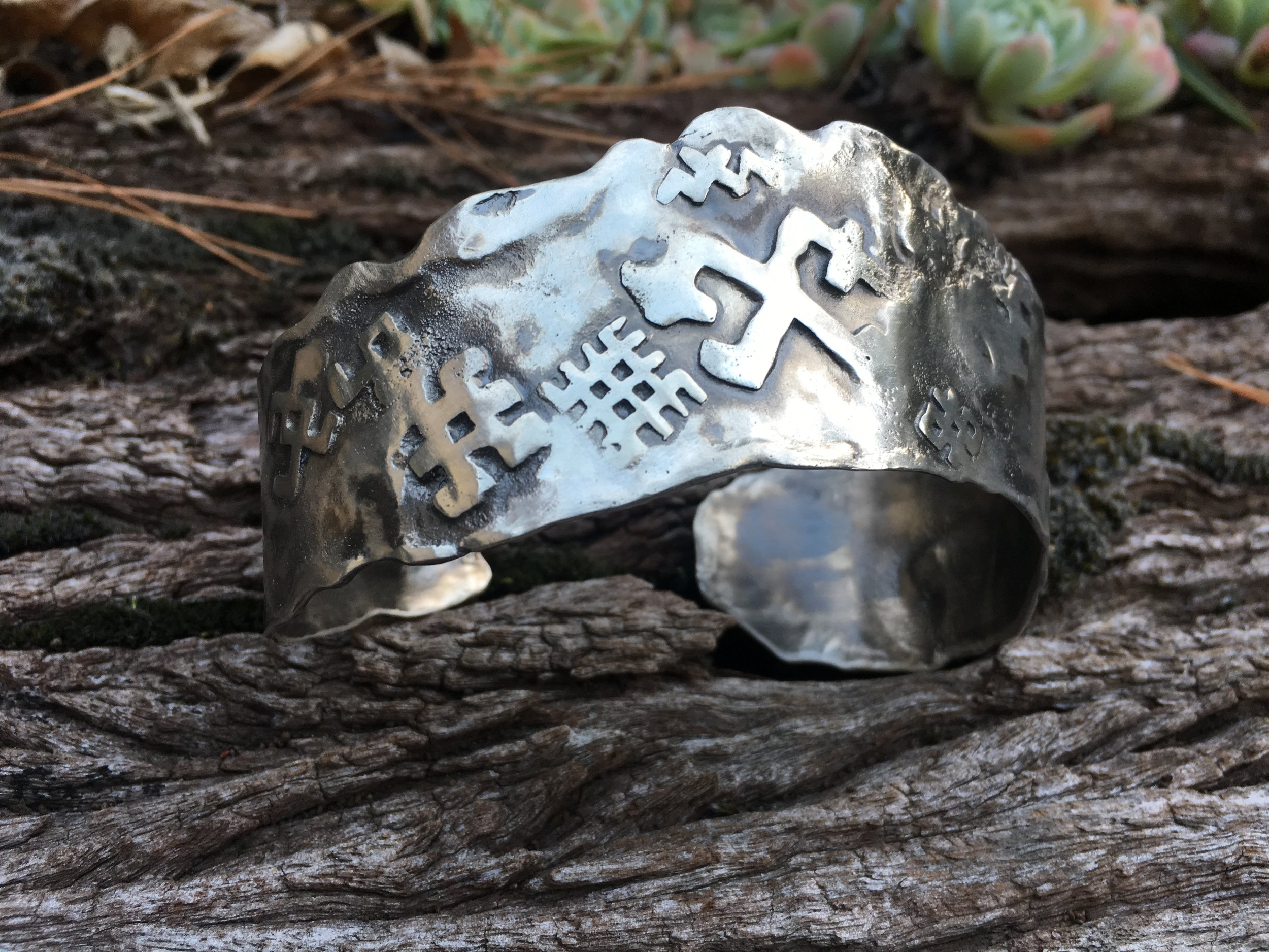 Vasara Jewellery Man Cuff