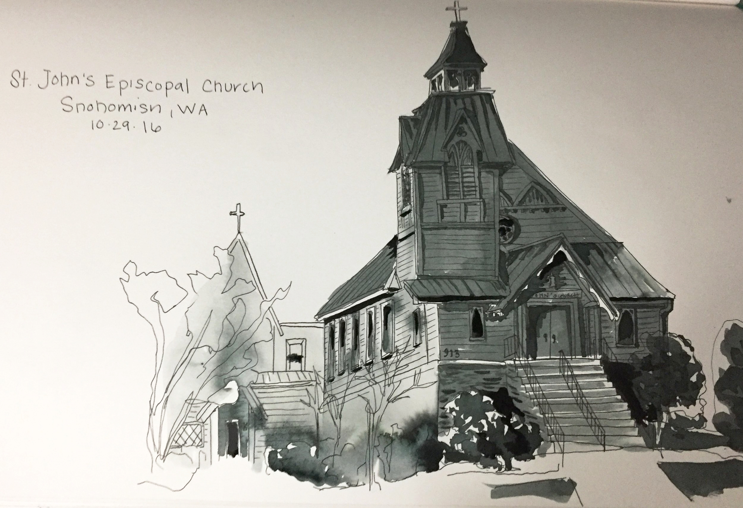Sketch by Emily Brown
