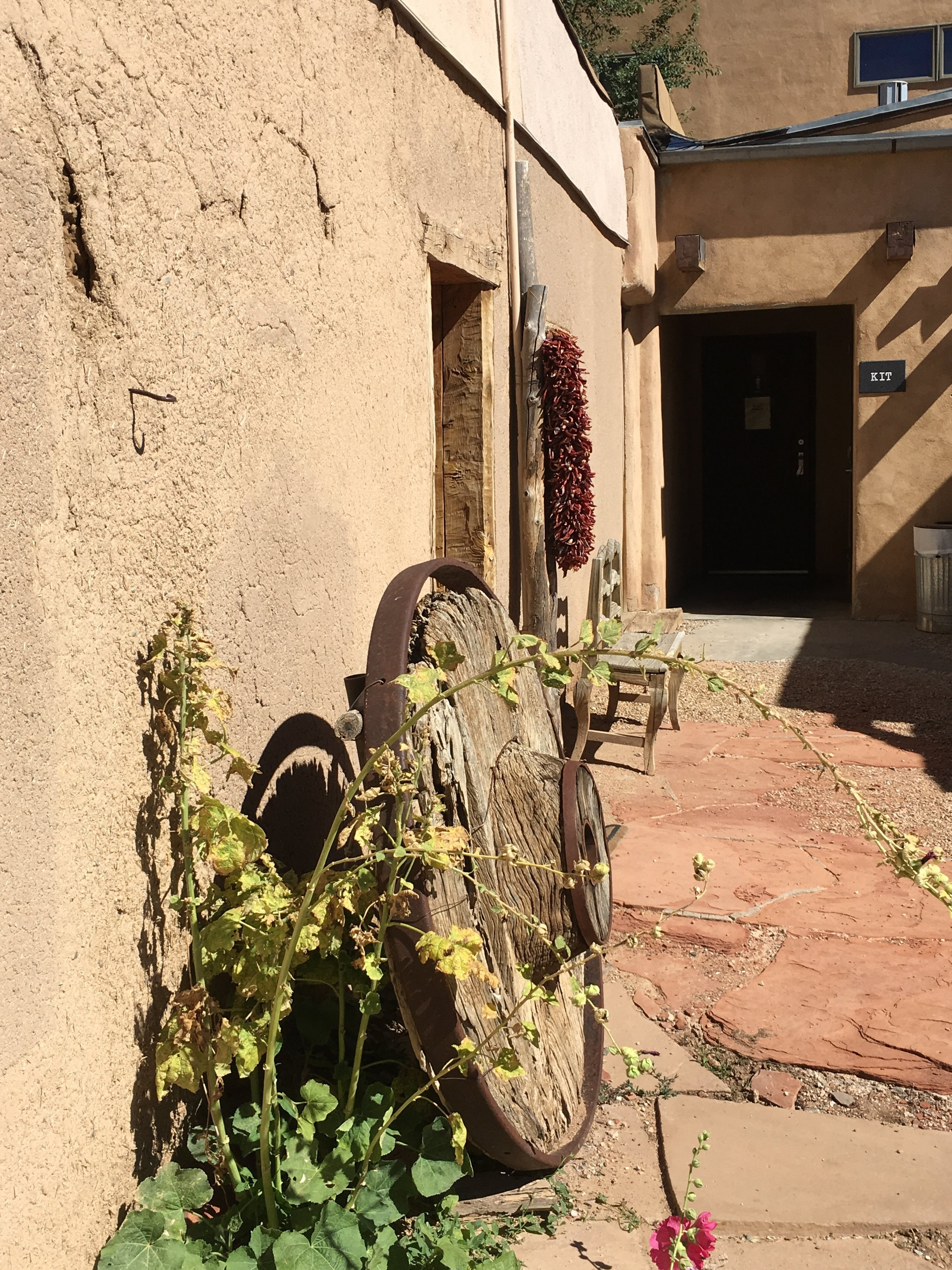 Kit Carson's Home & Museum Courtyard