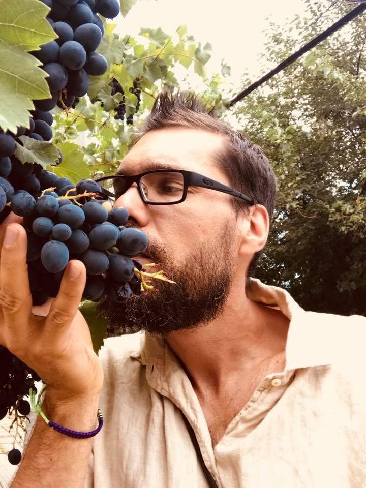 THERE, grandpa's grapes