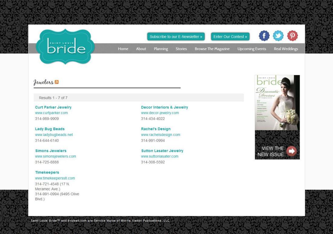 St. Louis Bride Endorsed Vendor