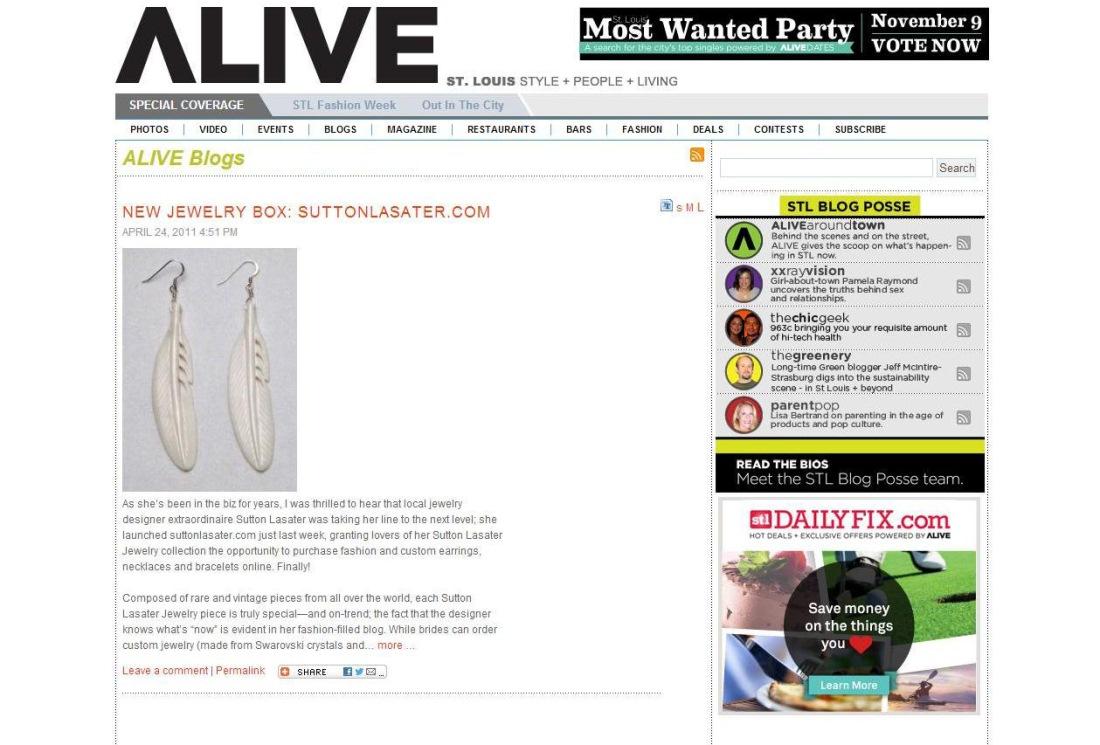 Alive Magazine Style Blog