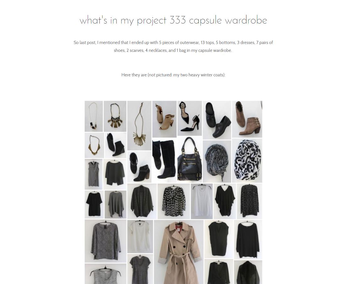 Mindful Closet Blog