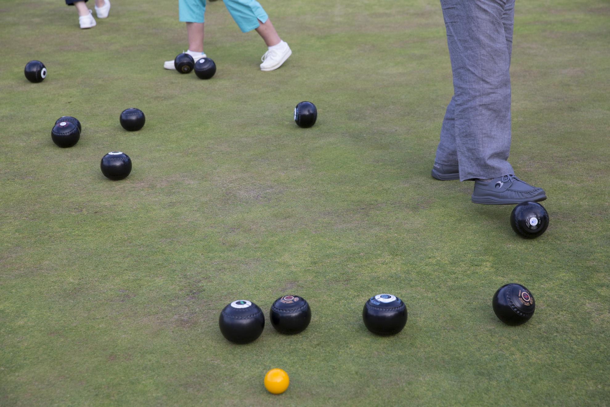 Bowls at the Blackhall Bowling Club.