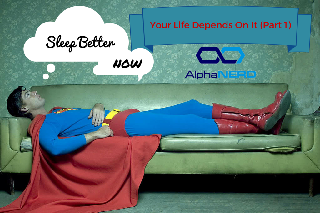 Lack of quality sleep is worse than Kryptonite