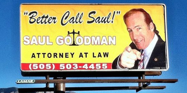 saul billboard