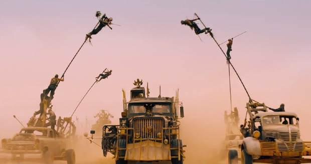 Fury Road Chase Scene