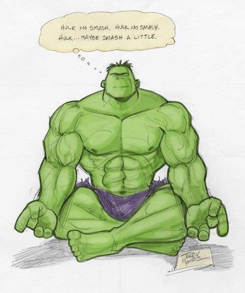 Hulk no smash...
