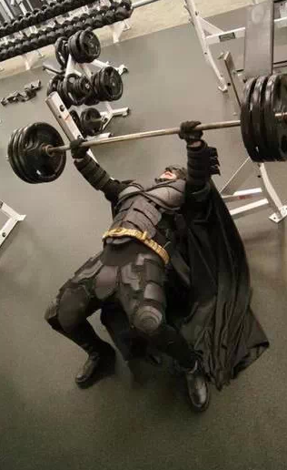 Batman doesn't have time for breakfast