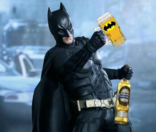 Batman always has a designated driver with the Batmobile's auto-pilot