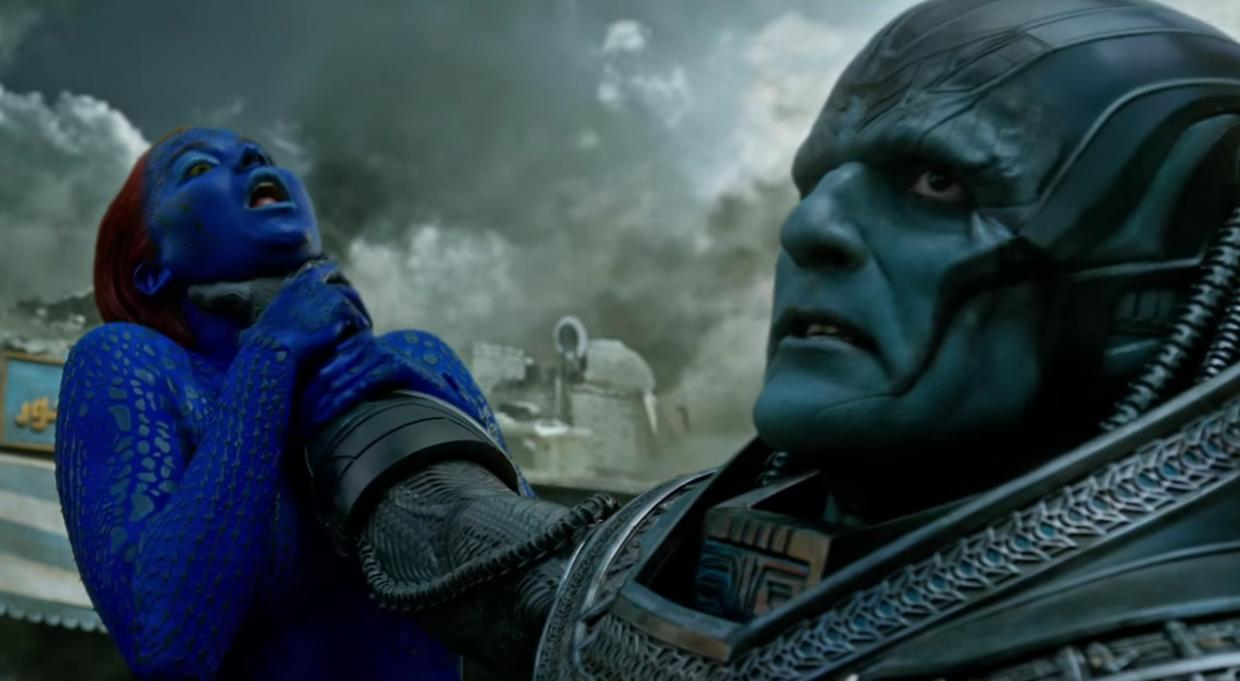 There can be only one Blue person in this film.