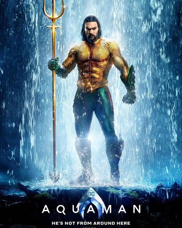 Will @aquamanmovie make a big splash or a belly flop? Check out the review on www.alphanerd.co now to find out!