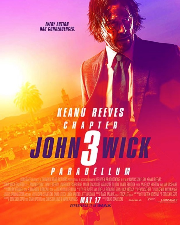 John Wick 3 review now live on www.AlphaNerd.co 🔪🔫⚰️💀🎯