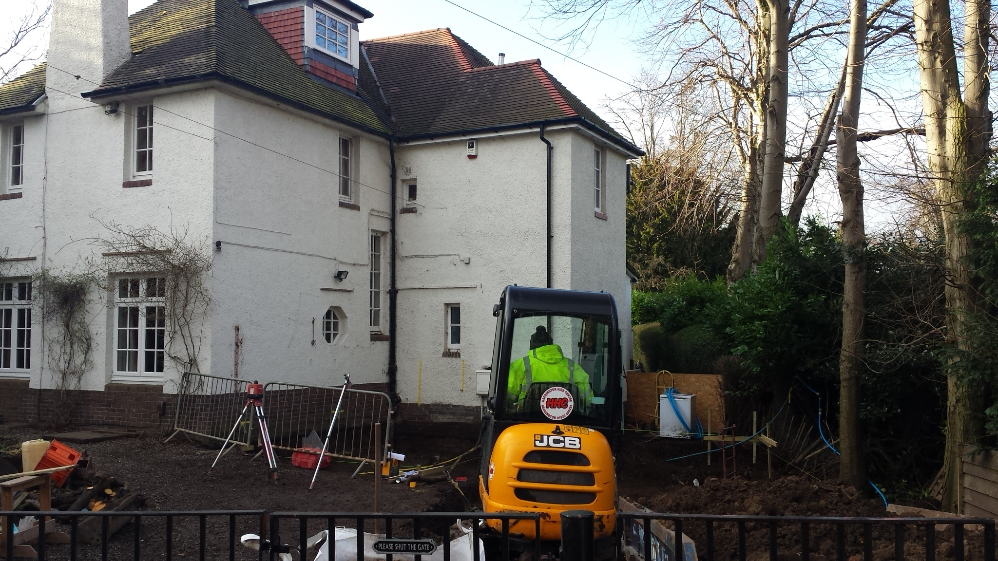 Building works commenced - Barnshot Road