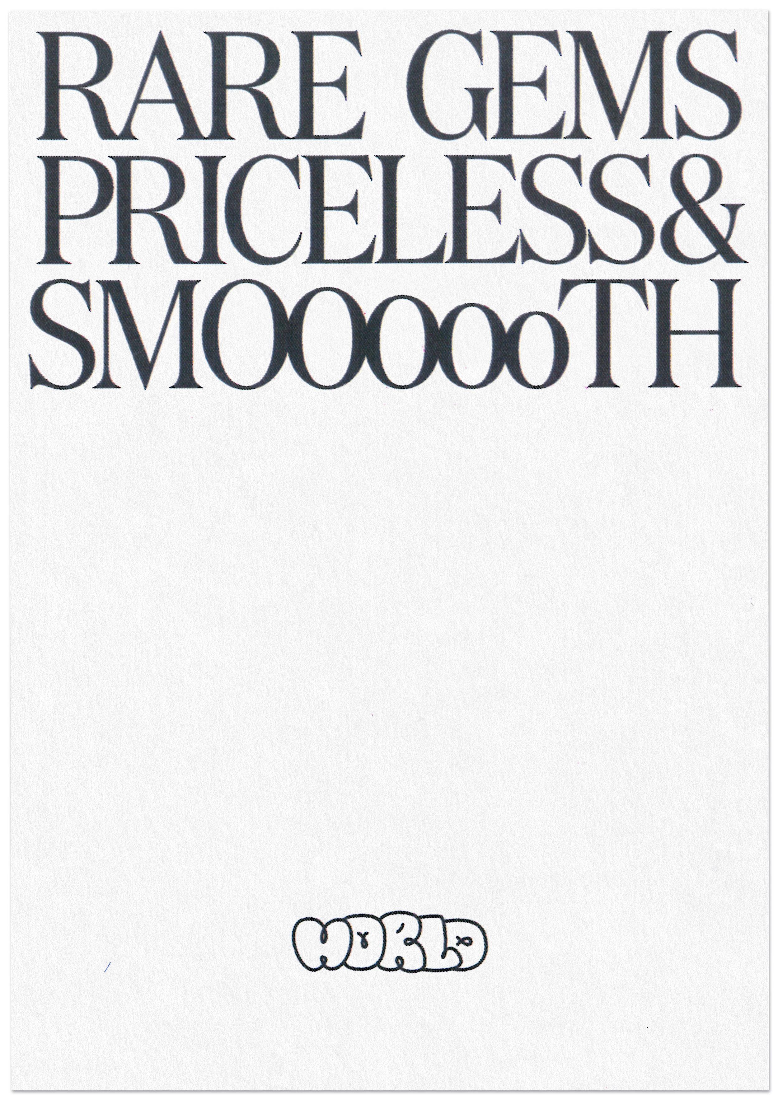 Serif typeface and thrash graff wordmark