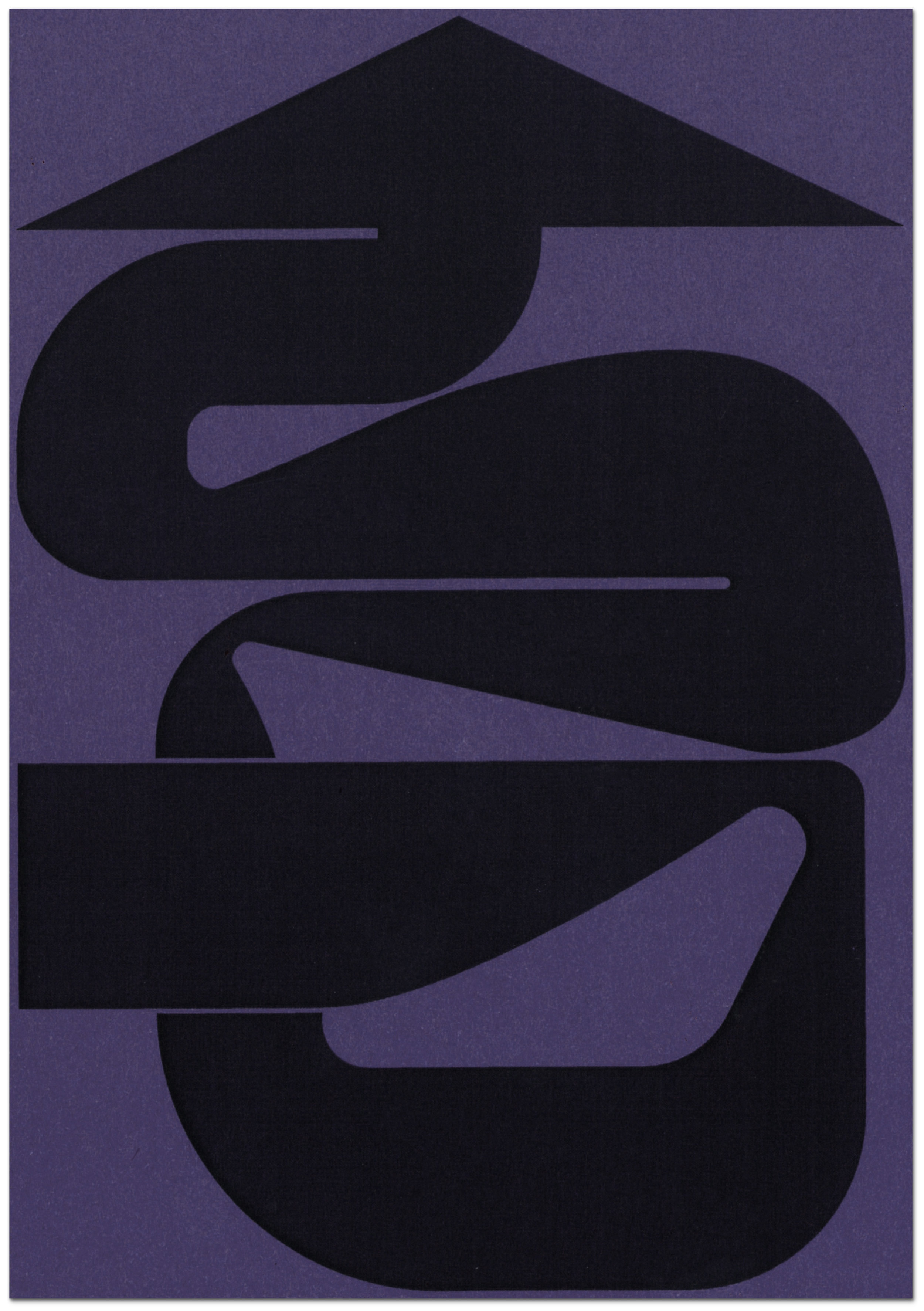 Purple arrow illustration