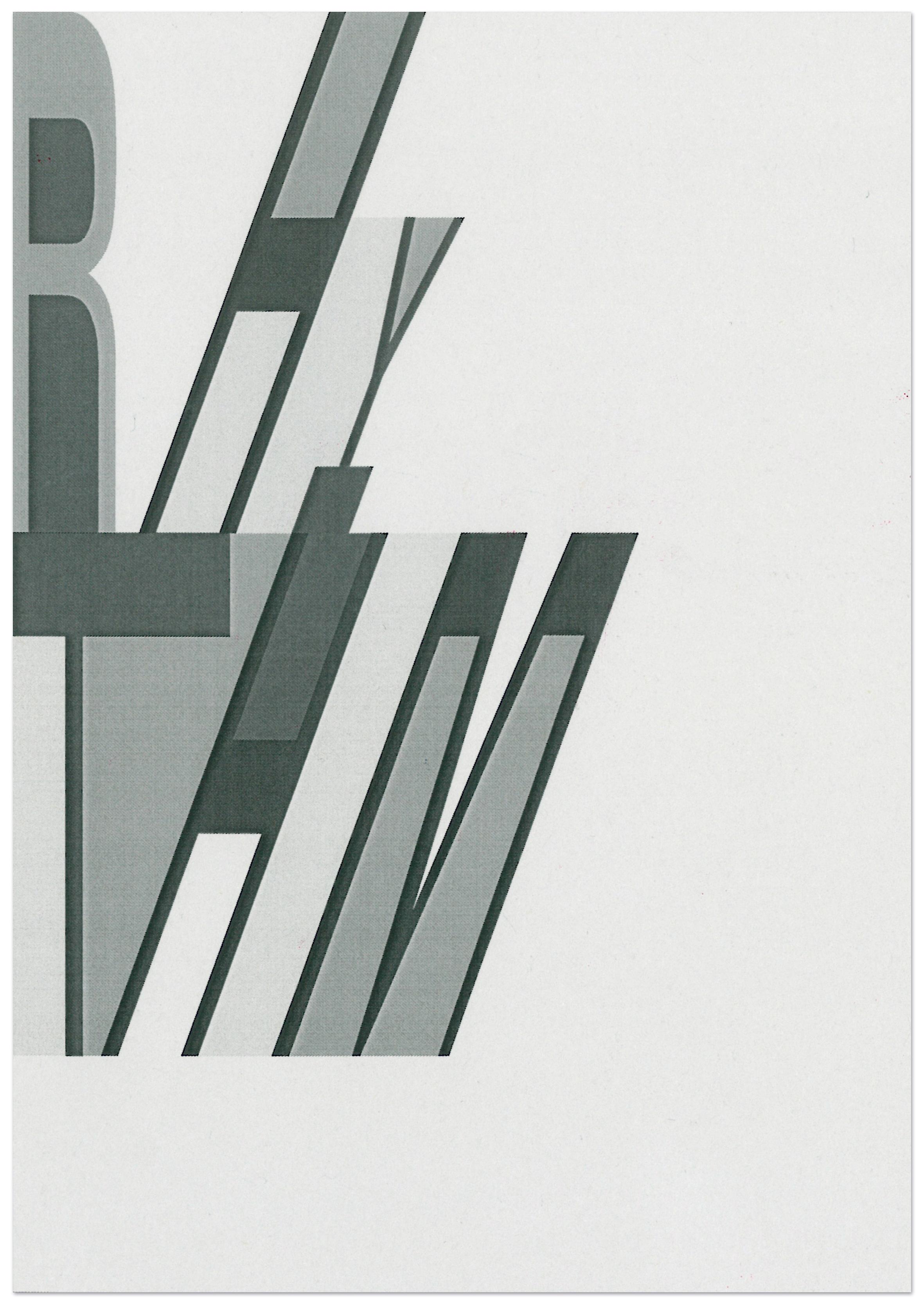 Rhythm typography composition