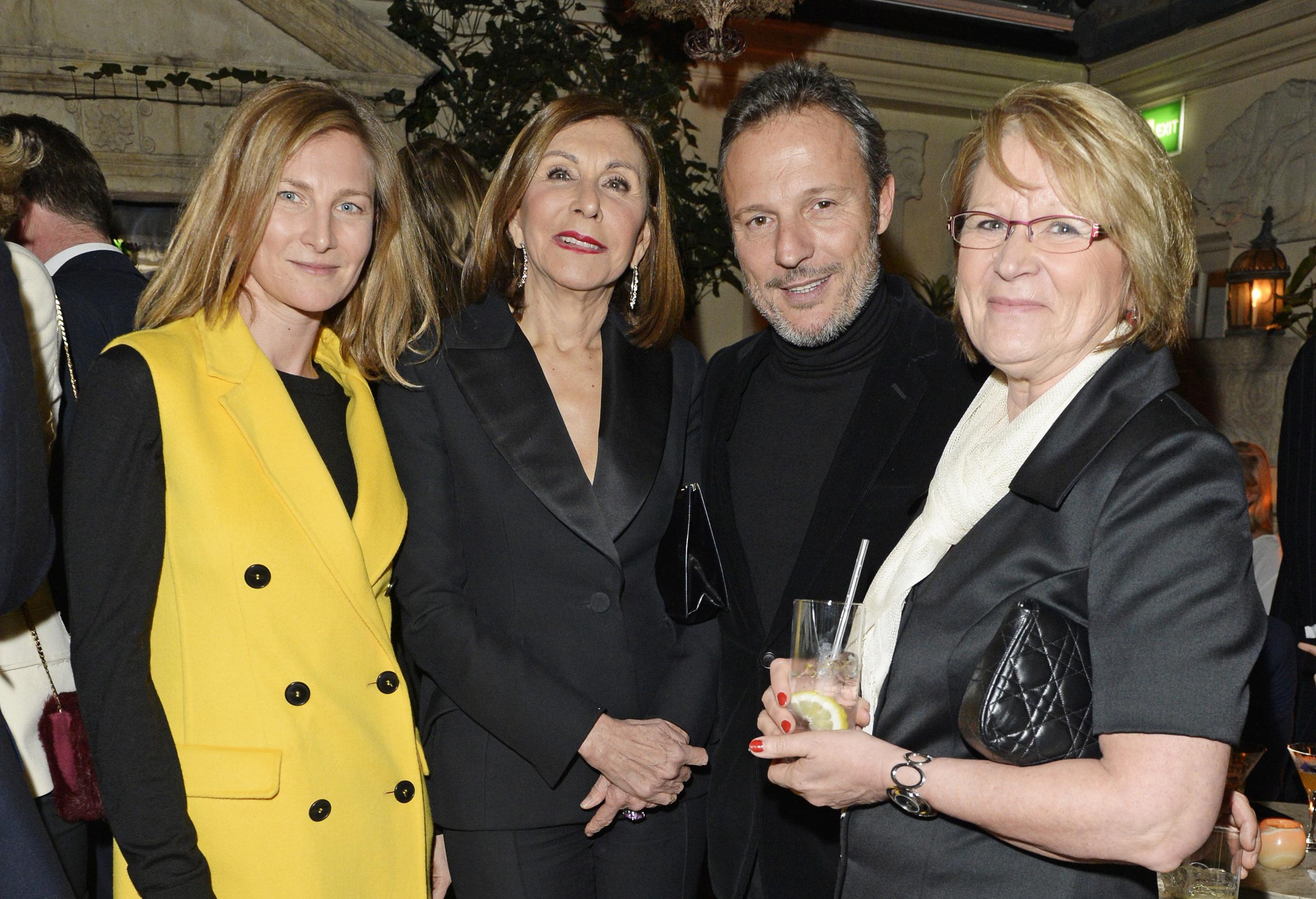 Elizabeth Von Guttman, Catherine Riviere, Olivier Bialobos, Monique Bailly.JPG