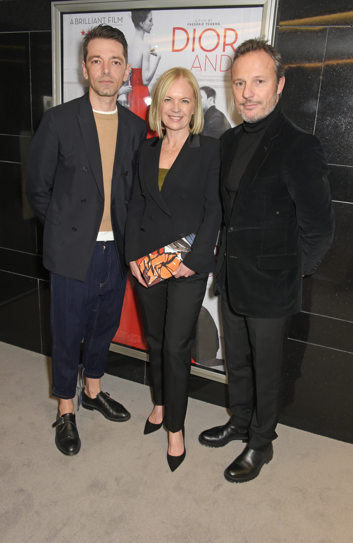 Pieter Mulier, Mariella Frostrup & Olivier Bialobos.JPG