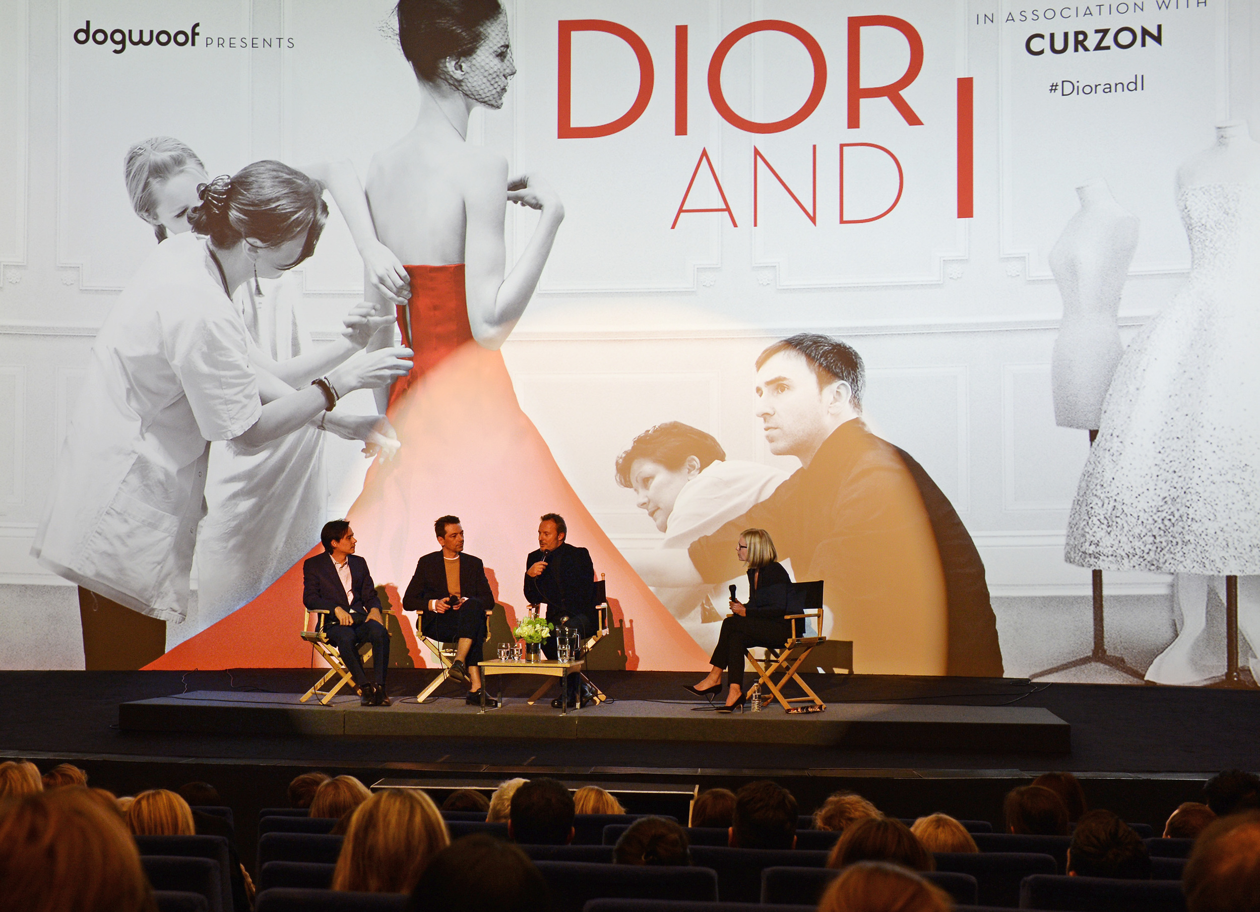 Q&A - Frederic Tcheng, Pieter Mulier, Olivier Bialobs Hosted by Mariella Frostrup.JPG