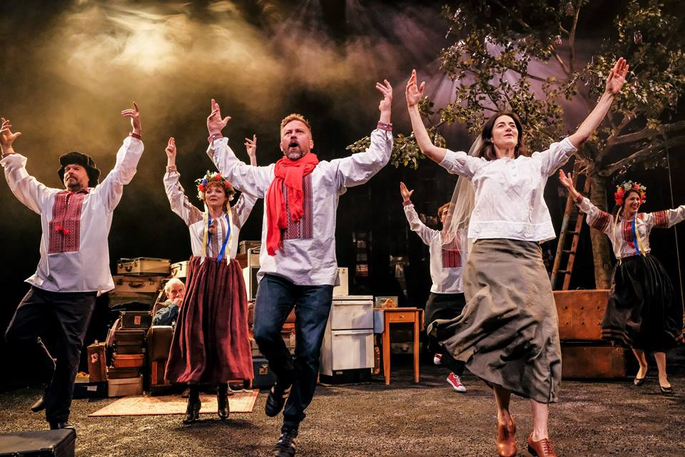 A SHORT HISTORY OF TRACTORS IN UKRAINIAN - In September 2017 I was lucky enough to compose the score for this beautiful show - an adaptation of the best-selling novel, directed by Mark Babych for Hull Truck Theatre.