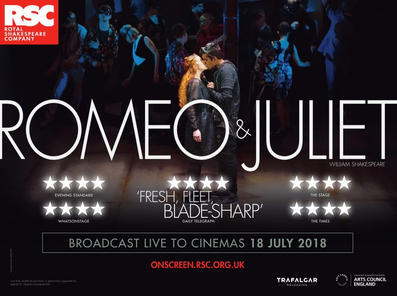 ROMEO AND JULIET - LIVE - Romeo and Juliet will broadcast live to cinemas across the UK on 19th January!