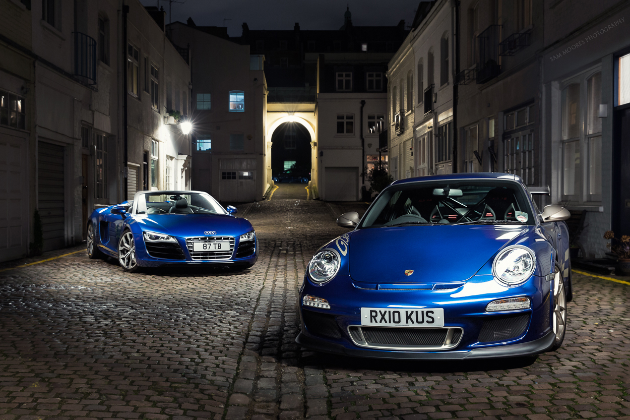 Audi R8 vs GT3 RS