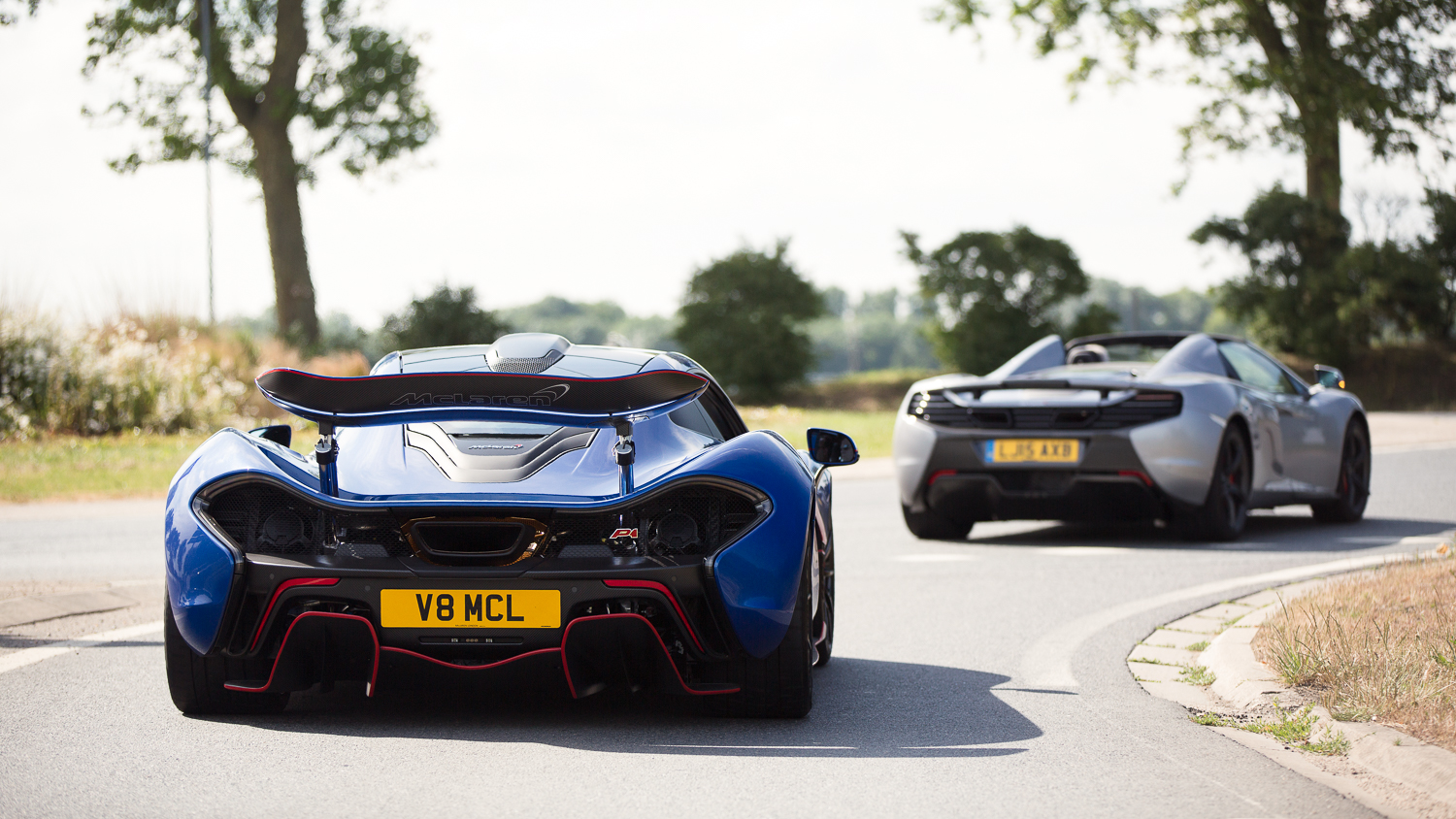 All P1s should drive around with the wing up..