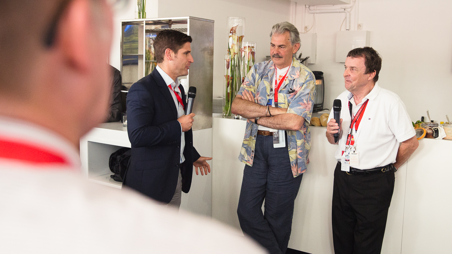 Chris Lawton interviewing Gordon Murray and Jeff Hazell about the McLaren F1