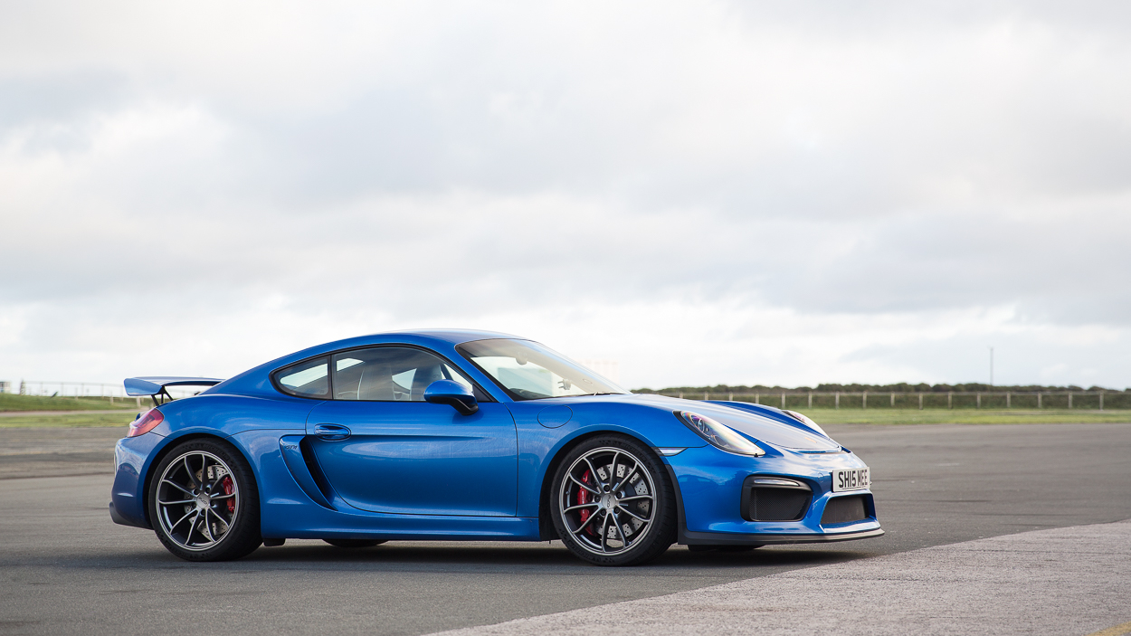 Tim brought his GT4 along which was very interesting to compare back to back with the RS