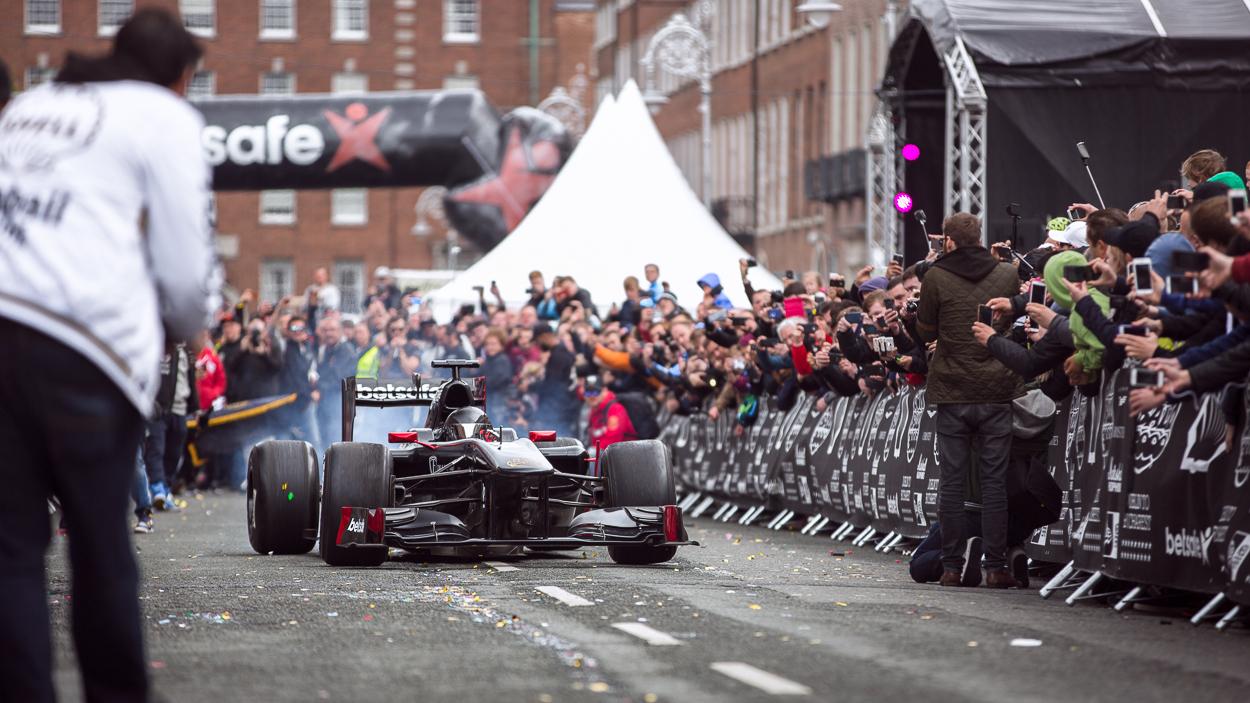 Betsafe Formula 1 Car Buttsy Butler