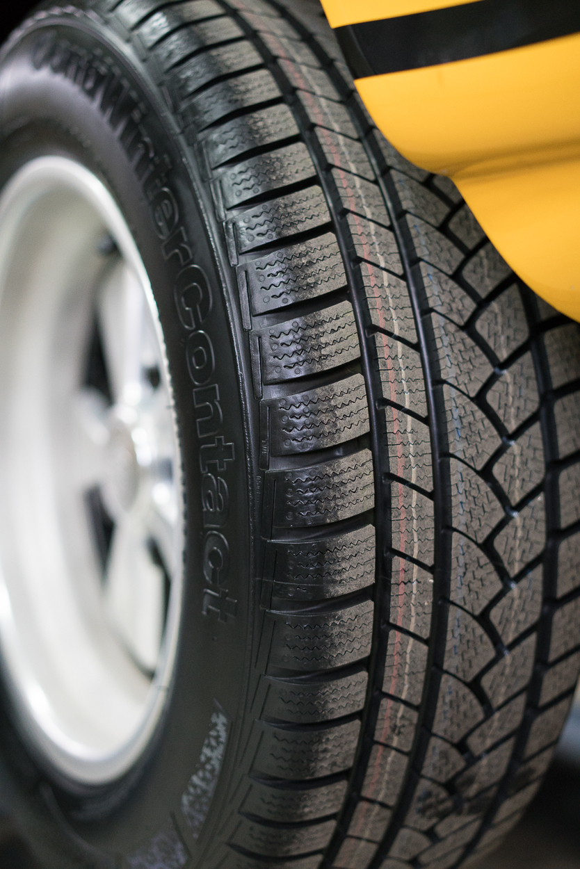 Without doubt the most important change was fitting some winter tyres, the grip in dicey conditions really is remarkable.