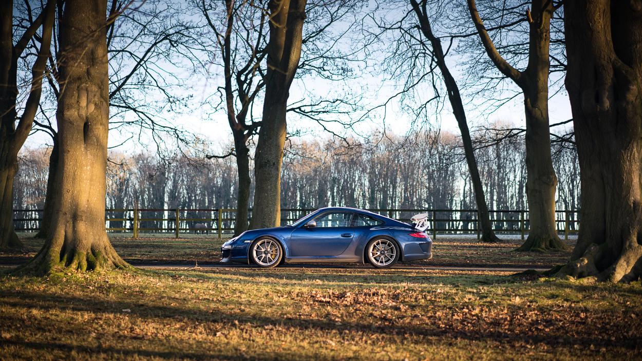 Porsche GT3 RS 997.2 Aqua Blue