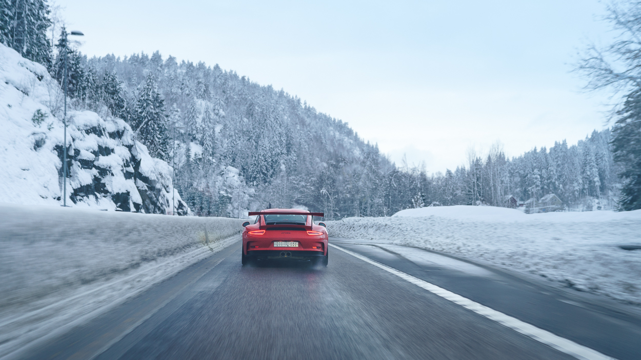 Porsche GT3 RS Snow