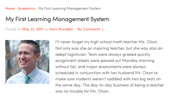My latest post is up at The Association of Boarding Schools blog!  You can check it out here!
